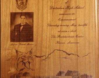 Personalized Graduation Gift Plaque