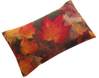 Maple Leaves Emery Pincushion filled with Emery Sand