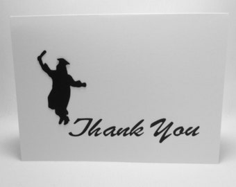 Graduation Thank You Cards Jumping for Joy Set of 10 Envelope Seals Eco-Friendly QueenBeeInspirations