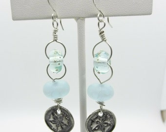 Handmade Sterling Silver Earrings - Prima Donna Beads