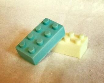 2 x Lego Blocks Soap - boys Girls Christmas Stocking filler Party Bag Filler