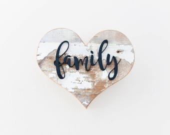Rustic Home Decor, Farmhouse Decor, Country Decor, Family Sign, Reclaimed Wood Art, Rustic Decor, Kitchen Decor, New Home, Wall Decor Art