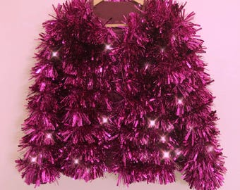 Pink Power Tinsel Jacket