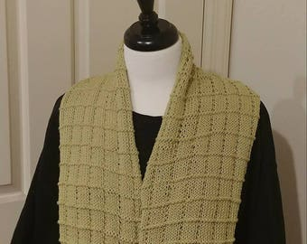 Honeydew Textured Scarf