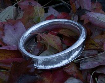 ANTICLASTIC Sterling Silver Bangle, bangle, bangles, silver bangle, silver bangles, silver bracelet, bracelet, silver, sterling silver