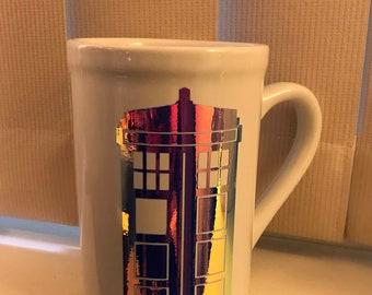 Doctor Who, holographic TARDIS 16oz mug