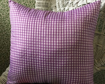 Gingham Check Pillow Cover