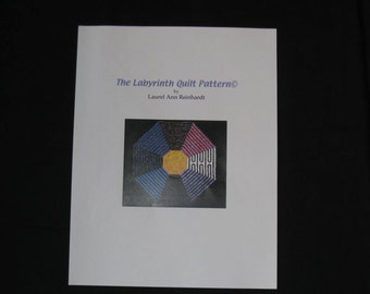 Labyrinth Quilt Pattern/PDF version