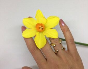 X - Ring / 14k Gold Fill / Fashion Jewellery