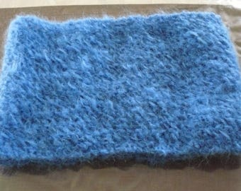 adult snood neck mohair wool