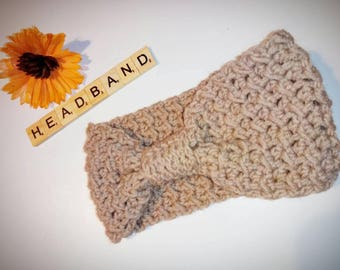 Crochet earwarmer, headband