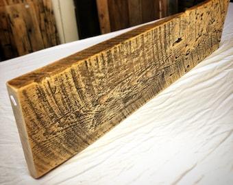 Rustic Pine Wood Shelf
