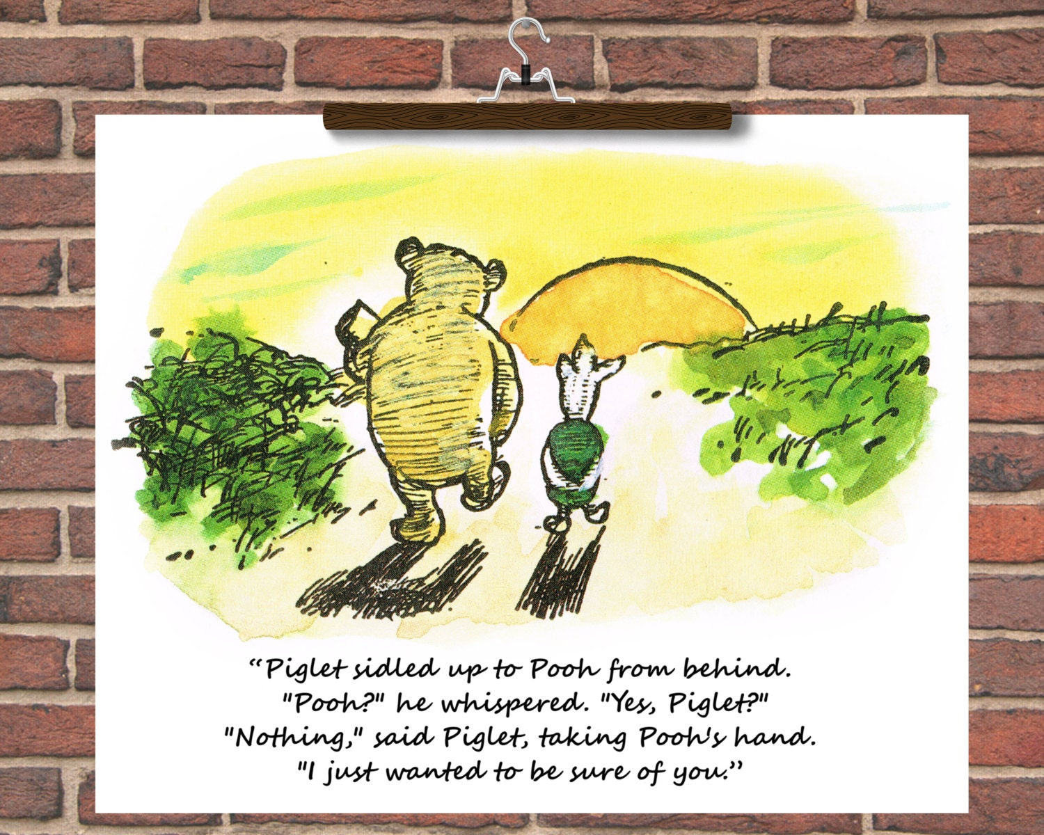Custom Quote Prints Personalise Winnie The Pooh Wedding Quotes Winnie The Pooh