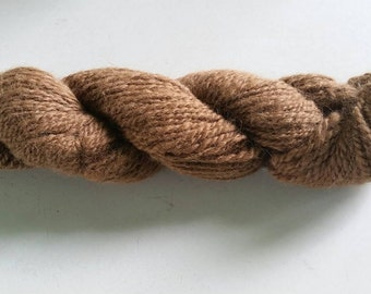 Light Fawn Alpaca / Merino Blend Yarn - approx 170 yds