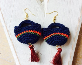 Sicilian Coffee Earrings