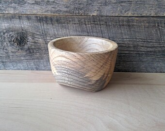 Spalted Hackberry Wooden Bowl