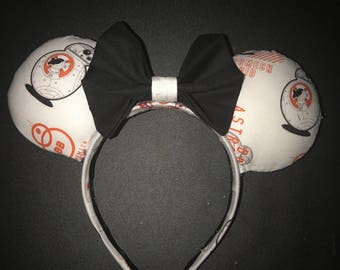 BB-8 Minnie Mouse Ears