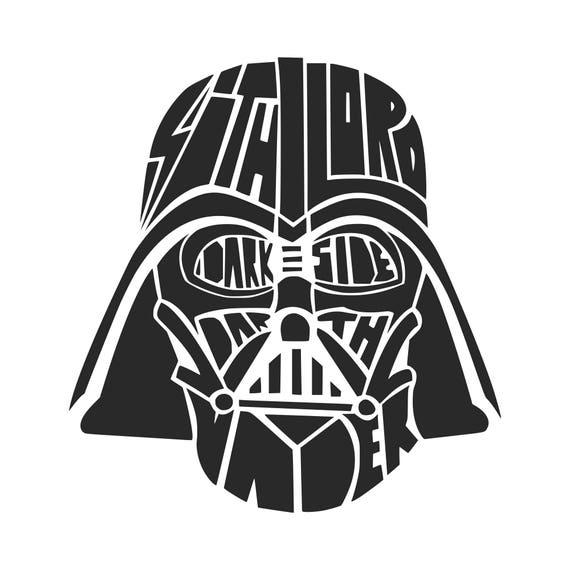 Dark Side Svg Darth Vader Svg Star Wars Svg Svg Dxf Png Vector