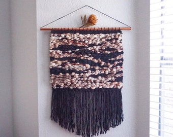 PUPA // Large Weaving Woven Wall Hanging Tapestry