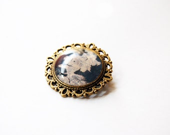 Westeros Map - Game of Thrones Map - Game of Thrones Jewelry - Game of Thrones Pin - Game of Thrones Brooch - Westeros Pin - Westeros Brooch