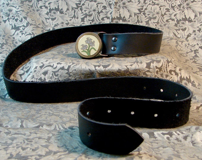 Custom Belt, With Vintage Buckle