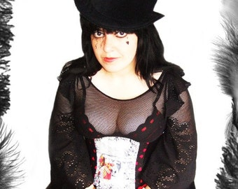 Full Size Velvet Top Hat, Custom Made, Any Size, 7 Velvet Colours Available or can be made in many different fabrics