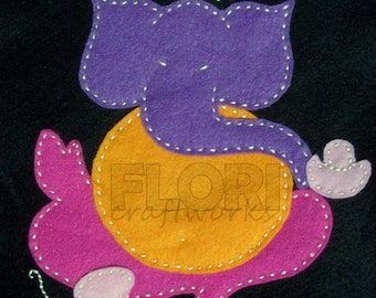 Ganesha Applique Template Pattern - Ganesh PDF Applique Template by FloriCraftworks