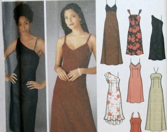 Misses Dress - Miss Petite Dress - Sewing Pattern - Simplicity 5244 - Long Dress - Short Dress - New - Uncut - Size 12, 14, 16, 18