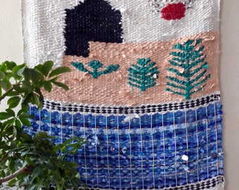 SUMMER - great swimming pool tapestry