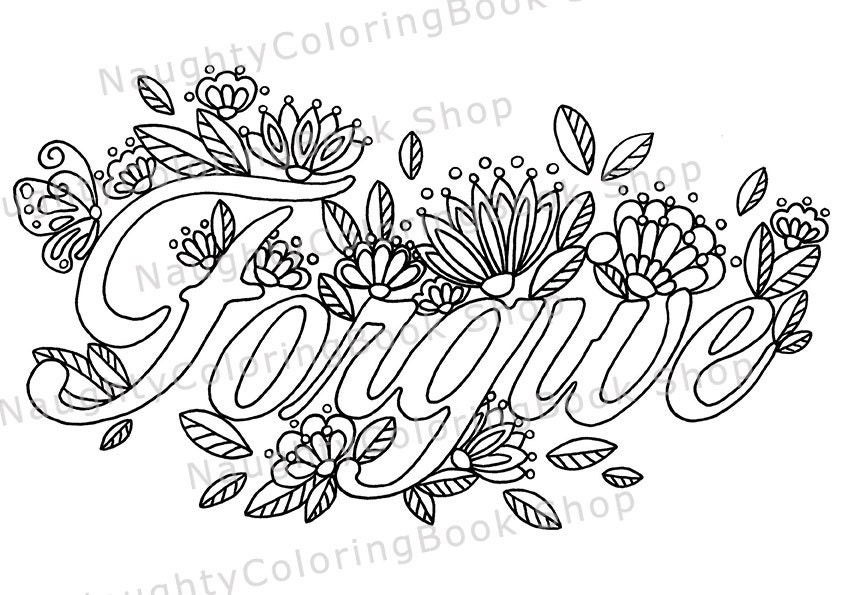 zoom - Inspirational Coloring Pages For Adults