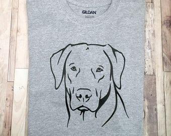 Labrador Retriever Silhouette - Lab Dog Shirt