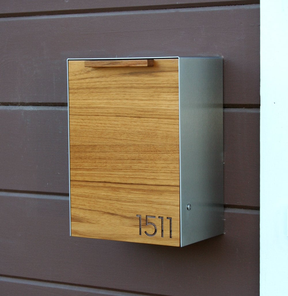 Dorable Decorative Wall Mount Mailboxes Component - The Wall Art ...