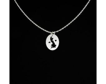 United Kingdom Necklace - United Kingdom Jewelry - United Kingdom Gift