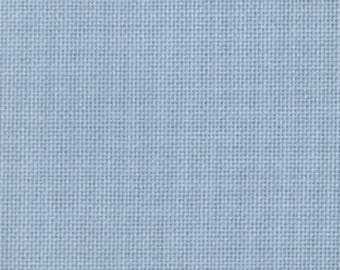 Blue Evenweave , DMC 25 count , 74 x 50 cm , 74 x 75 cm, cross stitch fabric, DMC fabric , evenweave sewing fabric, 25 count