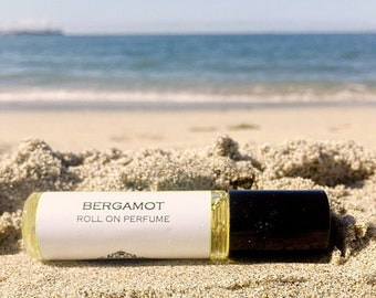 Roll on Perfume || fits in your purse and travel size || this listing is for scents Lemongrass Ginger - Yuzu