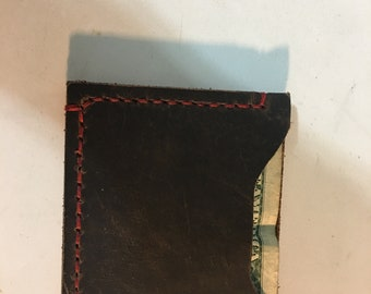 Leather Money and Card Holder