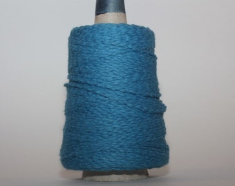 Halcyon Casco Bay Cotton Worsted mini-cones, color 0971230M, Lot 17188  Medium blue