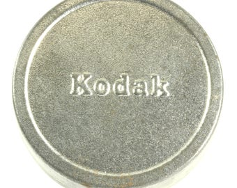 Miniature Eastman Kodak Company Metal Vintage Movie Reel Film Canister Tin - EKC Tin
