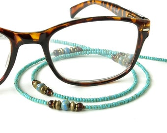 Glasses chain beaded eyeglass lanyard sunglasses holder necklace keeper