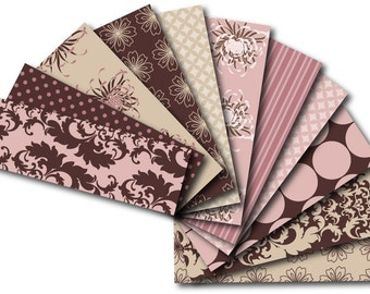 Tender Digital Paper Pack for Card-making, Stationary, Book-covers, Download and Print Jpeg Images