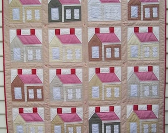th 'The Humble House' quilt pattern