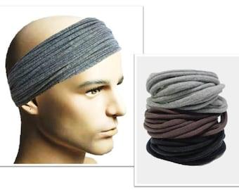 Men Headband Mens Hair Accessory Men Headwear Dreadlock Wrap Dreadlock  Hairband Everyday Men Head Band Wide Hair Wrap Mens Headband Lot bb8aa174c11
