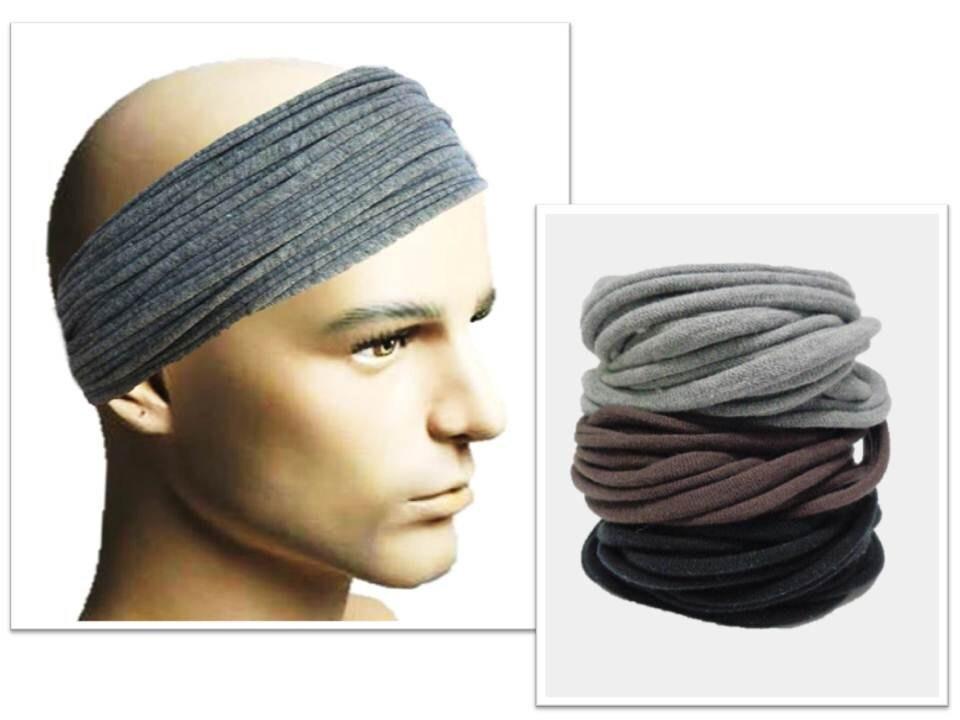 men headband mens hair accessory men headwear dreadlock wrap