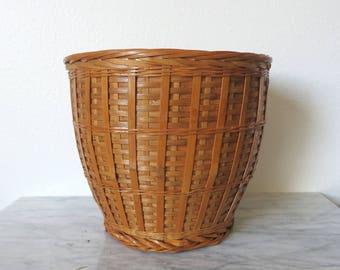 Vintage Boho Planter, Plant Pot, Succulent Planter, Boho Plant Pot, Jungalow Planter, Jungalow Decor, Hippie Plant Decor, Wood Planter, Boho