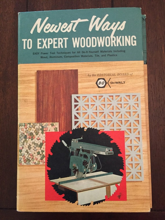Newest ways to expert woodworking 1960s vintage hobbycraft book newest ways to expert woodworking 1960s vintage hobbycraft book from randrvintagebooks on etsy studio solutioingenieria Images