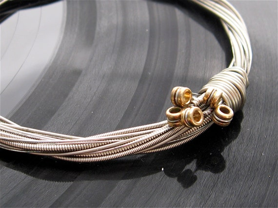 Fashionable bracelets made from guitar strings 100