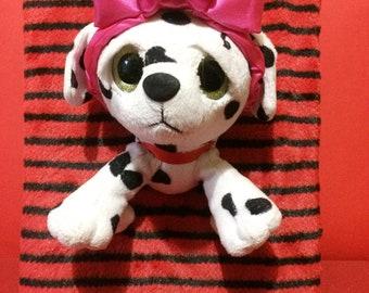 Dalmatian Stuffed Toy, Dress up a pet, Dress up a dalmatian, Dress up a dog, Dress up a puppy, Dalmatian Stuffed Animal