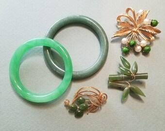 Jade Jewelry Lot/Jade?