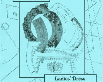 KayFigII: Research Patterns 651-C, Ladies' Dress Collars and Cuffs, 1863-64