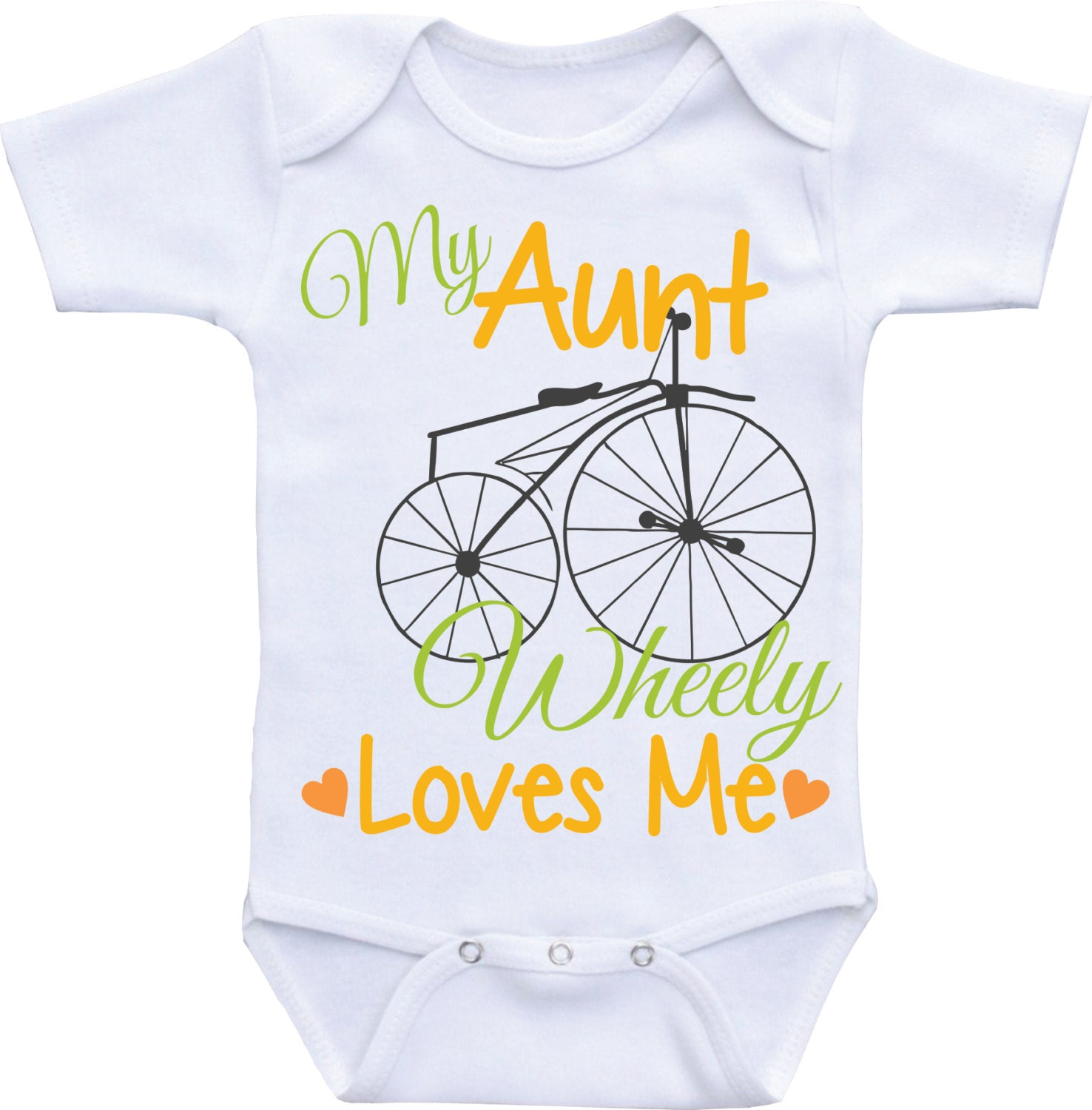My Aunt Loves Me esieI love my Aunt baby shirtAunt